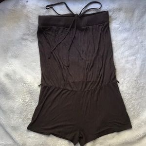 Strapless romper from H&M